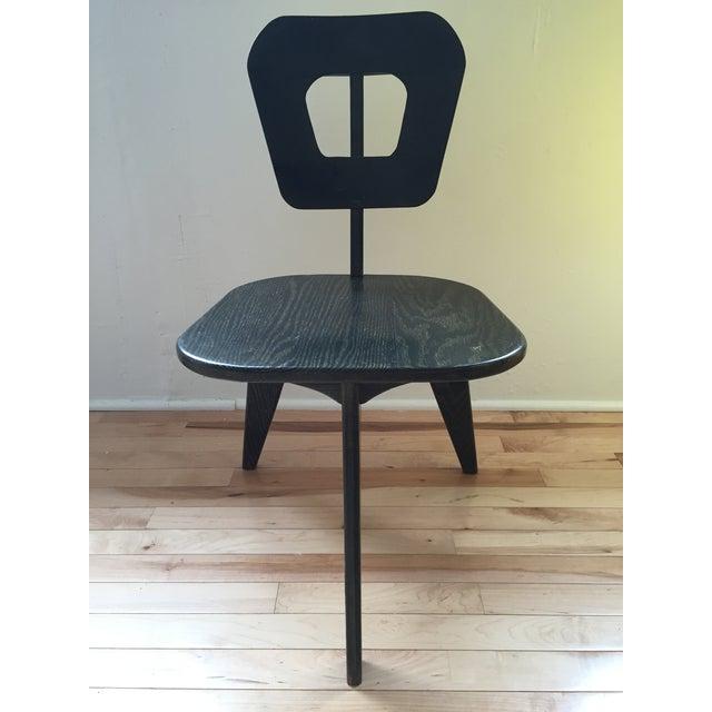 Arthur Collani Vintage 3-Legged Chair - Image 6 of 6