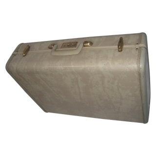 Mid-Century Beige Vinyl Samsonite Suitcase II