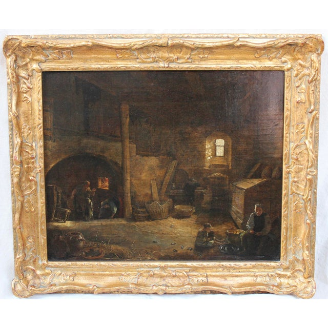 Bakery Interior Oil Painting - Image 2 of 7