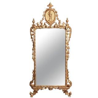 18th c., Italian, Gilt Wood Mirror
