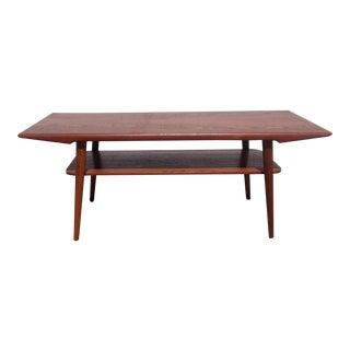 Vintage Danish Modern Teak Coffee Table
