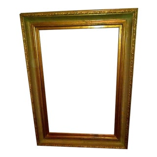 Gold Antique Picture Frame