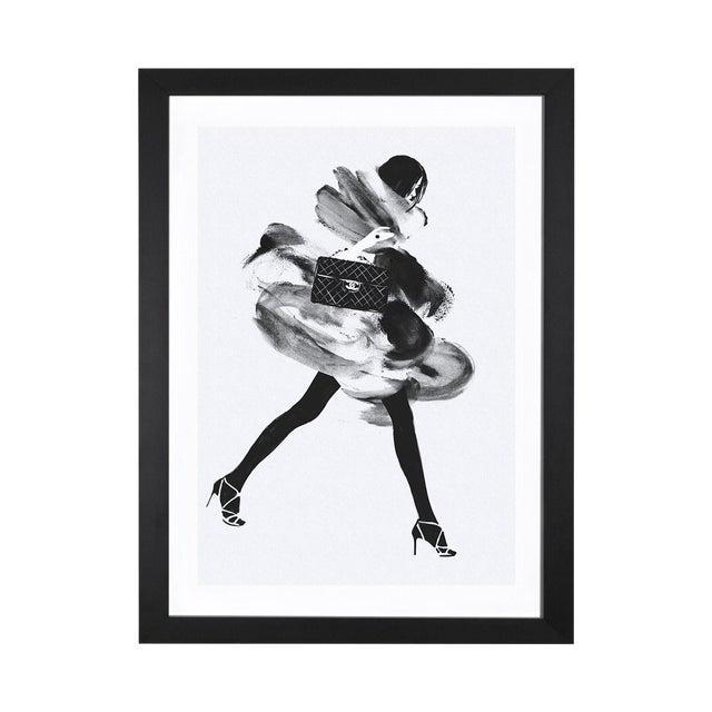 Judith Van Den Hoek 'Running Late I' Framed Print - Image 1 of 3