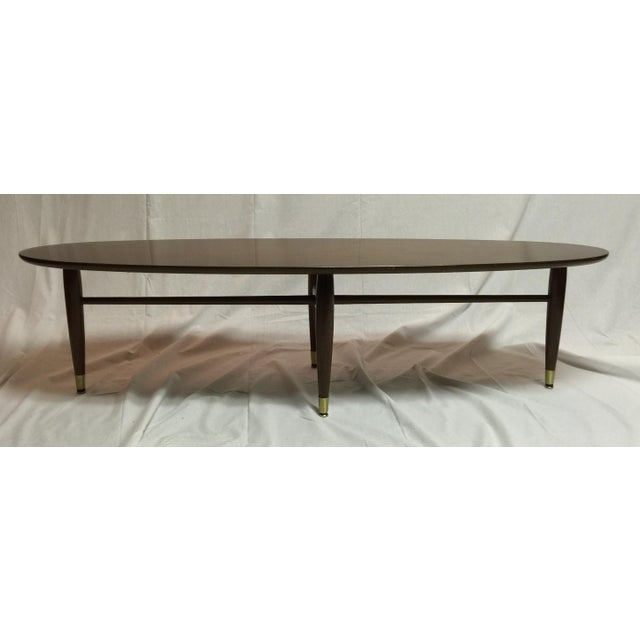 Mersman Mid-Century Surfboard Coffee Table