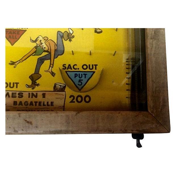 1930s Pinball Rodeo Game Wall Decor Chairish