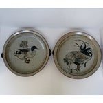 Image of Japanese Stoneware Dishes, a Pair