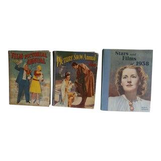 1920's Movie Books - Set of 3