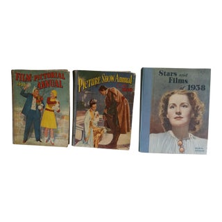 1920's Movie Books - Set of 3