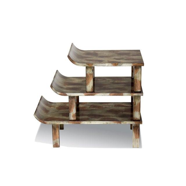 "Truex American Furniture ""Pagoda"" Side Table - Image 2 of 3"