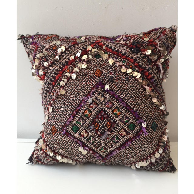Moroccan Dhurrie Pillow - Image 2 of 8