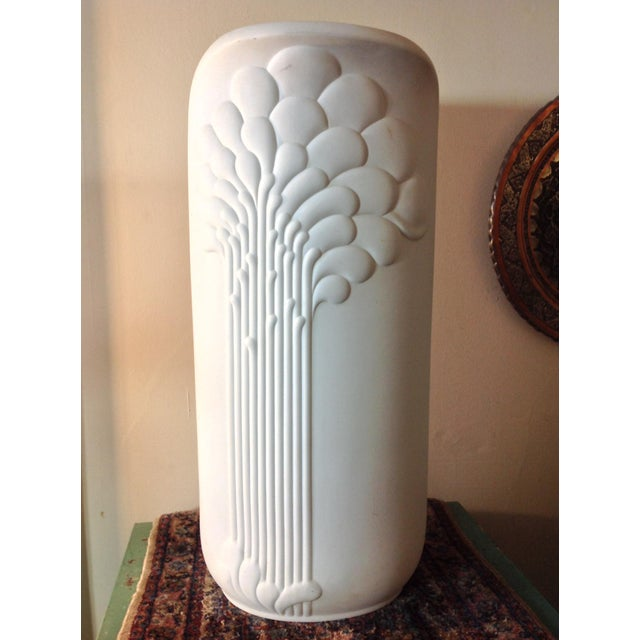 Image of German Porcelain Michaela Frey Op Art Tall Vase