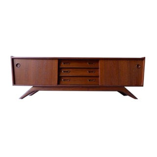 Mid Century Modern Styled Low Credenza