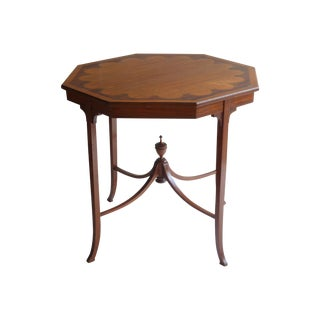 Adams-Style Octagonal Side Table