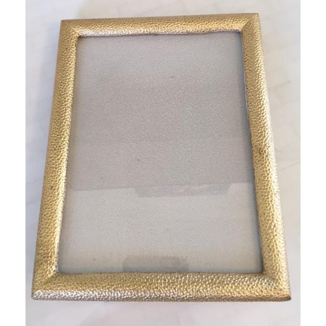 Gold Shagreen Picture Frame - Image 2 of 7
