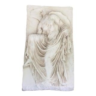Neoclassical White Venus Relief