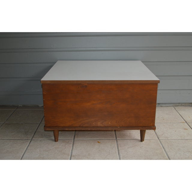 Mid-Century Laminate Coffee Table - Image 4 of 6