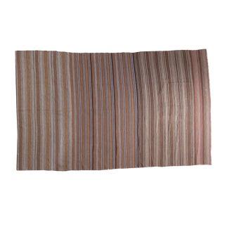 "Vintage Moroccan Kilim Carpet- 5'11"" x 9'11"""