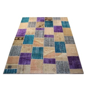 Anatolian Patchwork Rug - 8′ × 9′8″