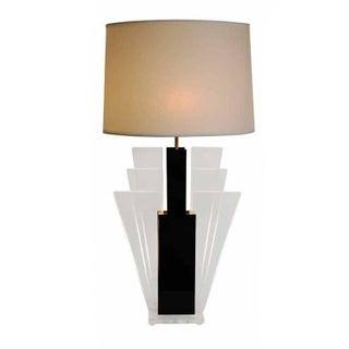 1960s Elegant Lucite and Plexiglass Lamps