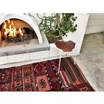 Image of Vintage Bakhtiari Woven Rug - 7′ × 3′2″