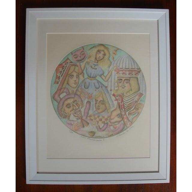 Alice in Wonderland 1971 Original Framed Print - Image 2 of 5