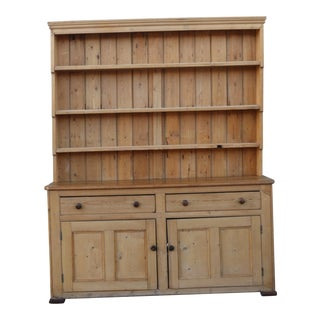French Pine Two Piece Sideboard