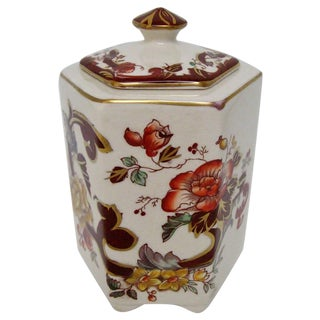 Mason's Ironstone Tea Caddy