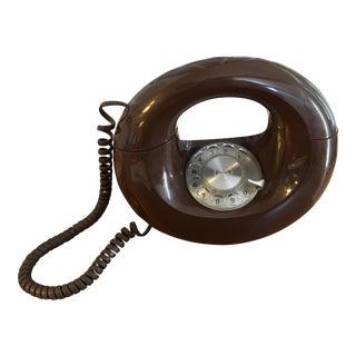 Retro Rotary Circle Phone