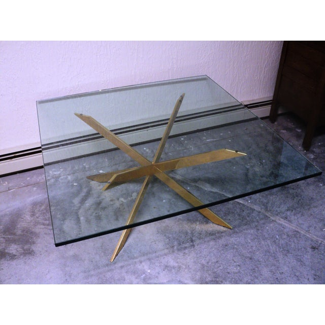 Pace Collection Double X Coffee Table Base - Image 10 of 11