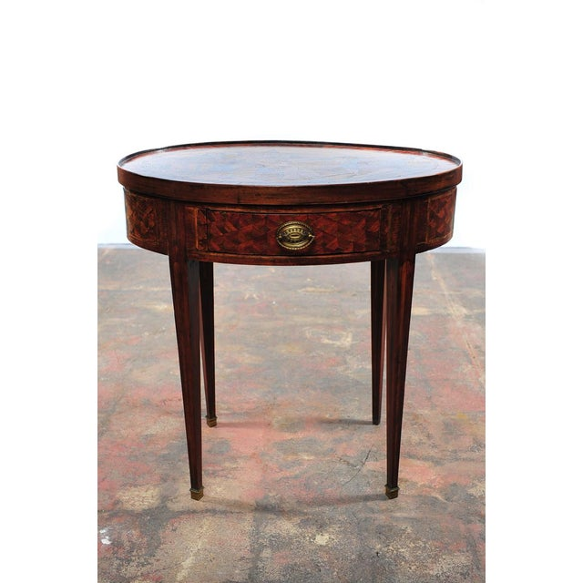 18th Century Oval Revolving Game Table - Image 6 of 10