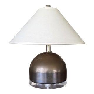 Mid-Century Squat Table Lamp