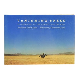 Vanishing Breed: Photographs of the Cowboy and the West Book