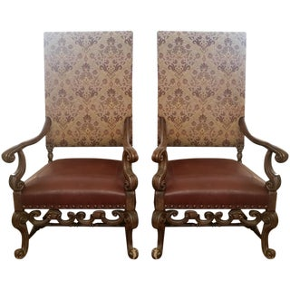 Century Jacobean Chairs - A Pair