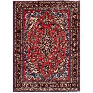 "Hamadan Vintage Persian Rug, 7'0"" x 9'9"""