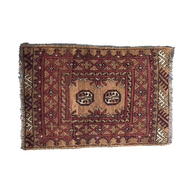 Image of Turkaman Persian Rug - 1′7″ × 2′3″