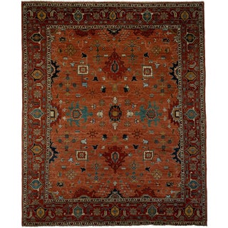 """Ziegler, Hand Knotted Area Rug - 8'4"""" X 9'10"""""""