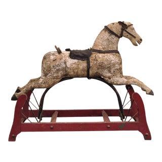 Antique Primitive Glider Rocking Hobby Horse
