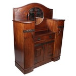 Image of Antique German Arts & Crafts Style Cabinet