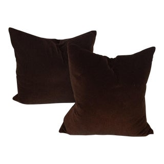 Room & Board Velvet Pillows - A Pair