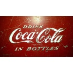 Image of 1955 Original Coca Cola Cooler Drink Server