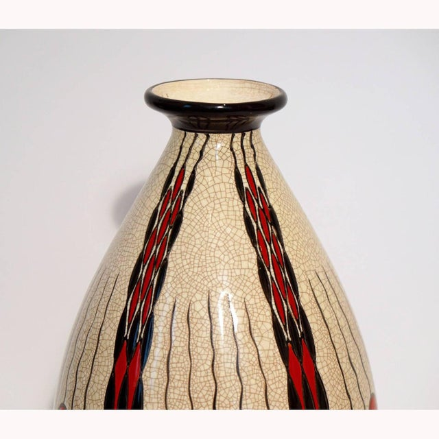 Charles Catteau Art Deco Vase D.1831 - Image 2 of 5