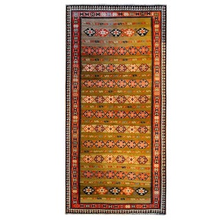 Incredible Mid-20th Century Zarand Kilim Runner