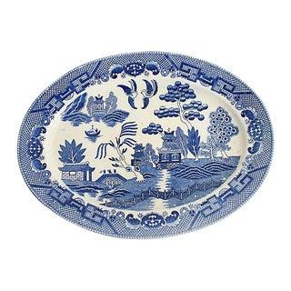 1940s Willow Platter