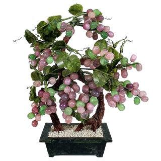 Jade and Quartz Vine in Planter