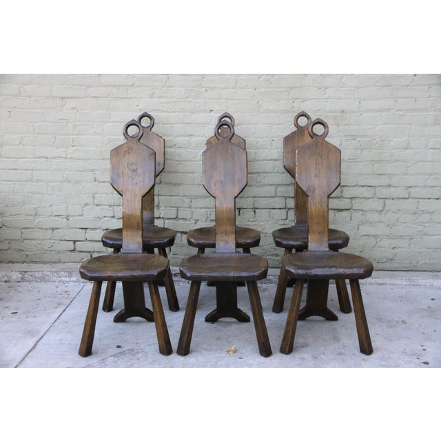 John Barbor Dining Chairs - Set of 6 - Image 2 of 9