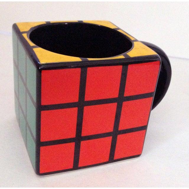 Spinning Retro Rubik's Cube Ceramic Mug - Image 4 of 7