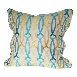 Lux Geometric Custom Pillows - a Pair