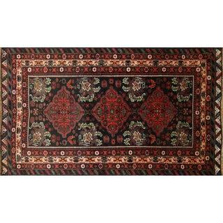 "Persian Balouch Wool Rug - 3'8"" x 6'4"""