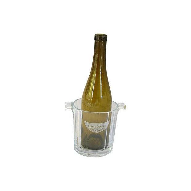 Crystal Glass Moet Chandon Bottle Bucket Chiller - Image 3 of 5