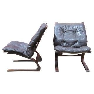 """Ingmar Relling for Westnofa """"Siesta"""" Chairs - A Pair"""